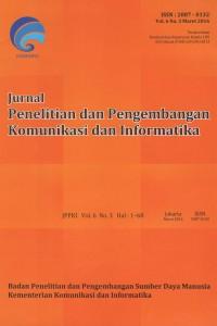 Jurnal Penelitian dan Pengembangan Komunikasi dan Informatika
